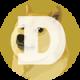 Doge coin logo