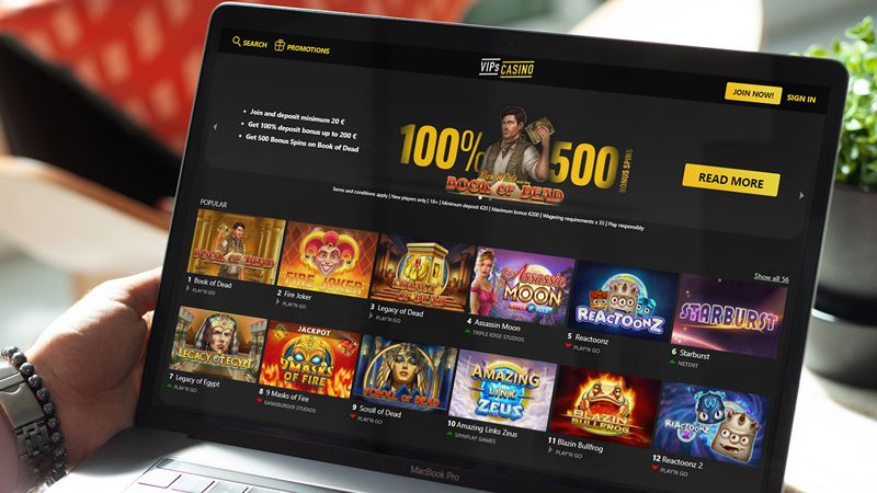 Casinos to Try in 2021 - VIPs Casino